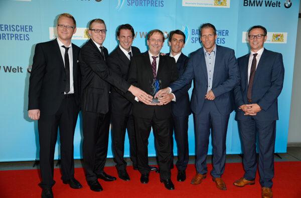 BFV.TV-Projektteam mit Martin Bader