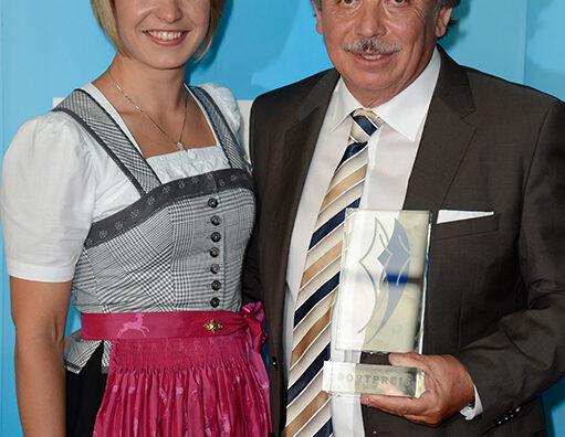 Sammy Minkoff und Magdalena Neuner