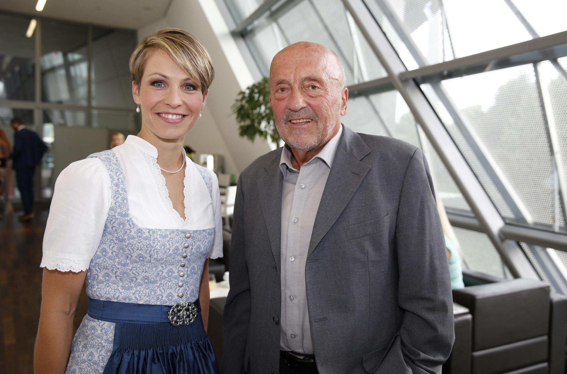 Magdalena Holzer und Klaus Wolfermann