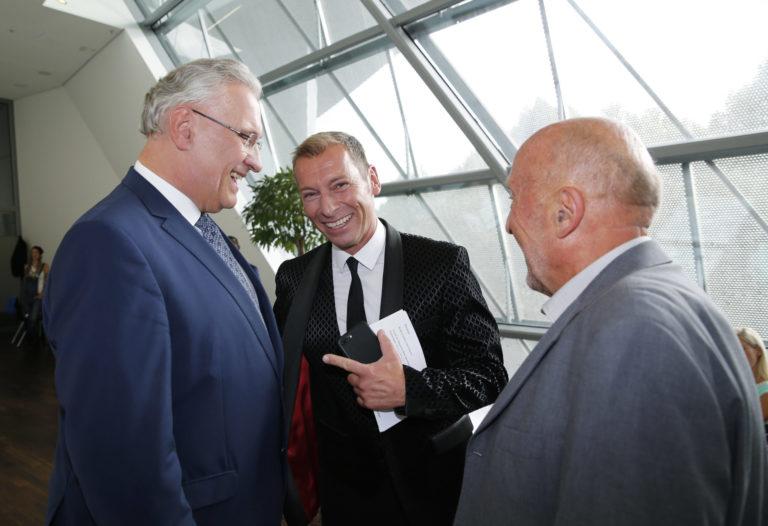StM Herrmann, Markus Othmer und Klaus Wolfermann