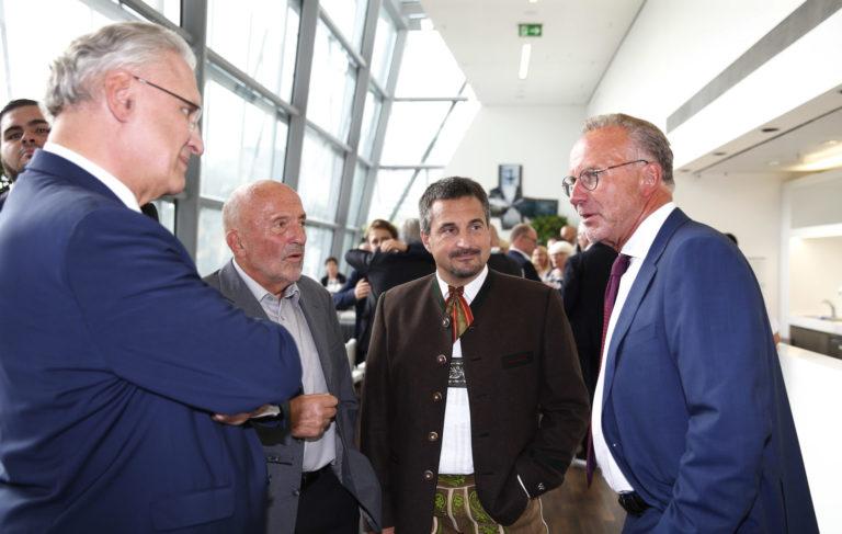 StM Herrmann, Wolfermann, Hackl und Rummenigge