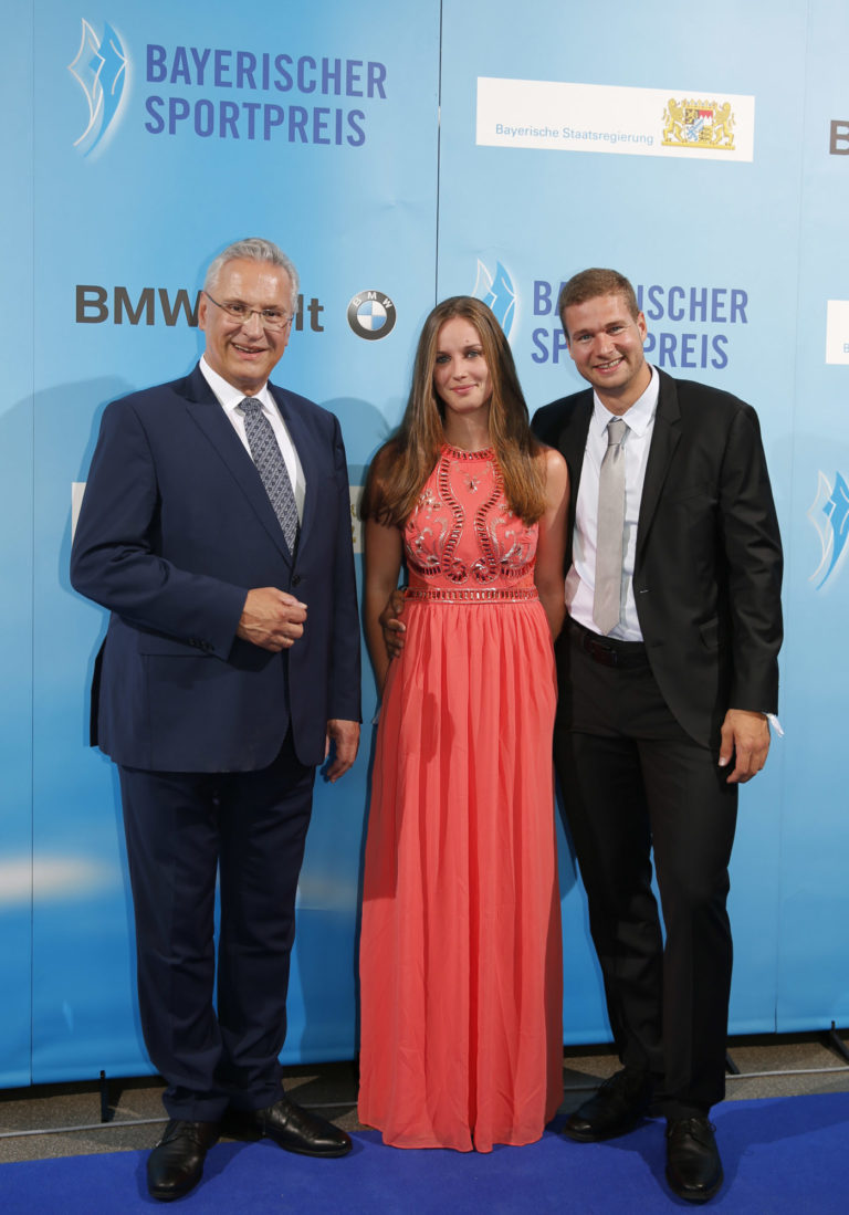 StM Herrmann, Johannes Lochner mit Freundin