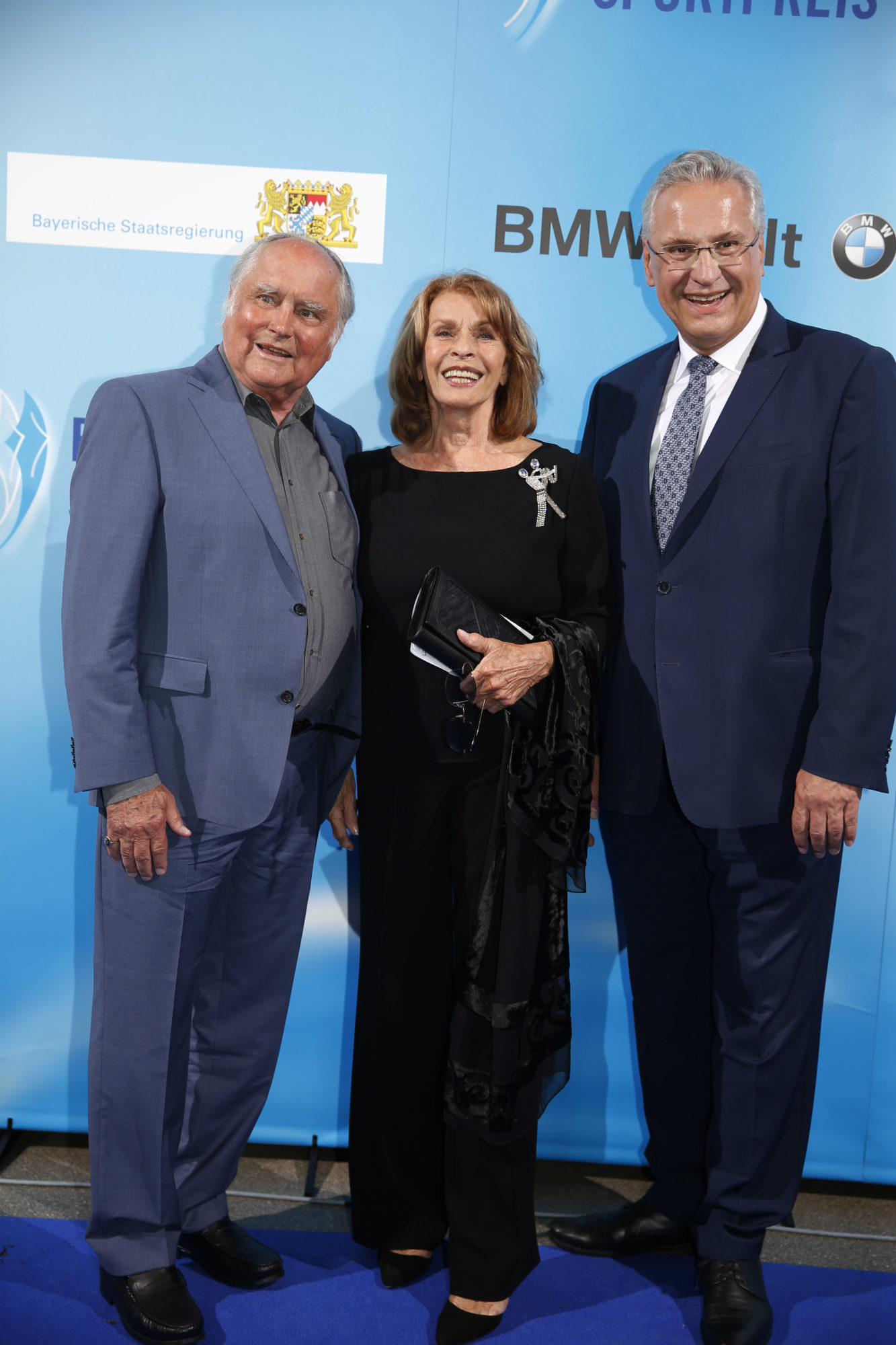 Michael Verhoeven und Senta Berger, StM Herrmann