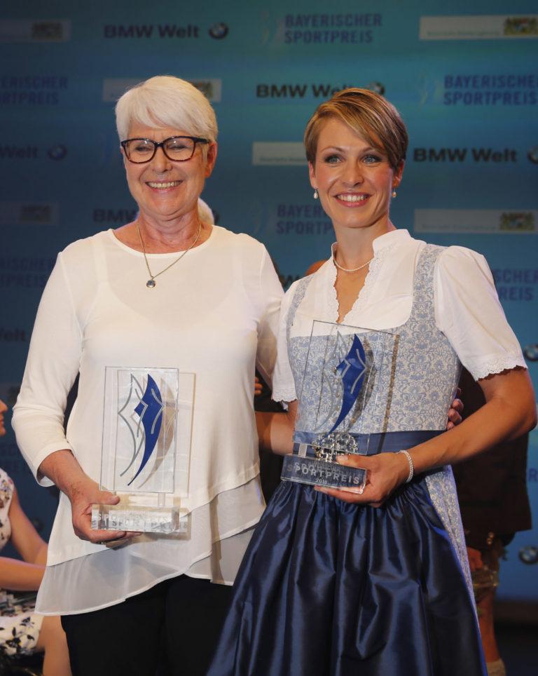 Heide Ecker-Rosendahl und Magdalena Holzer