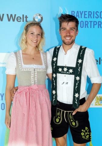 Johannes Rydzek und Freundin