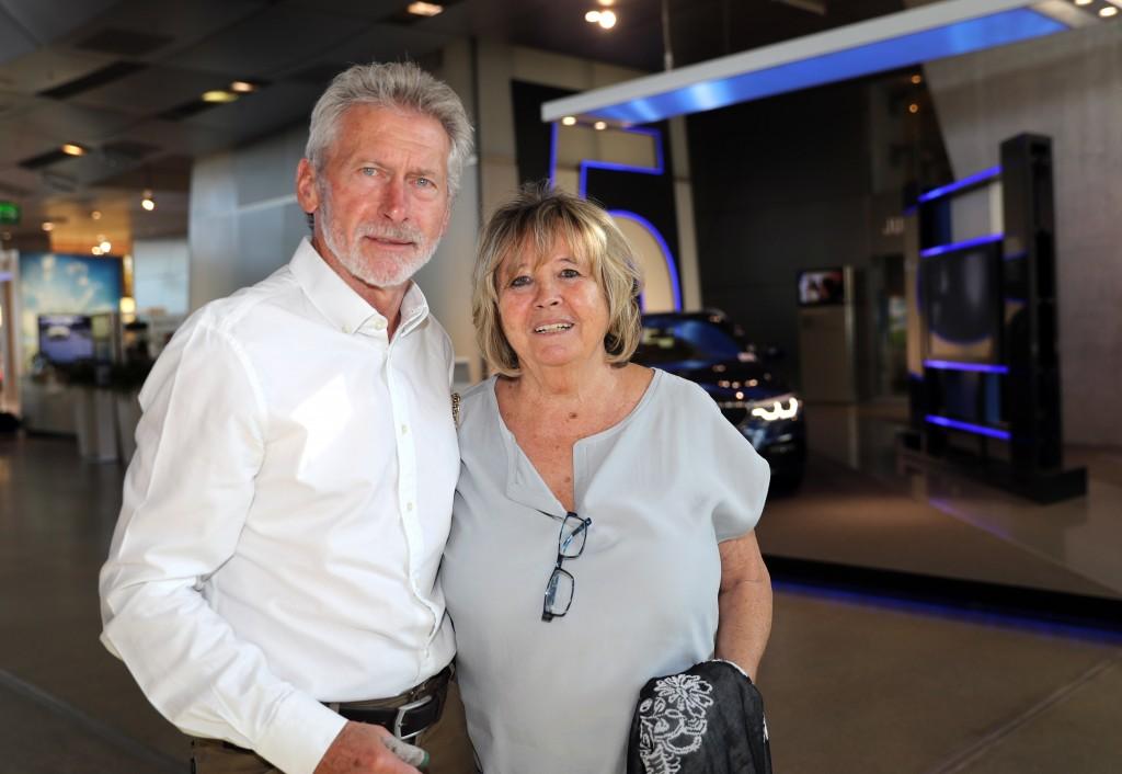 Paul Breitner und  Ehefrau