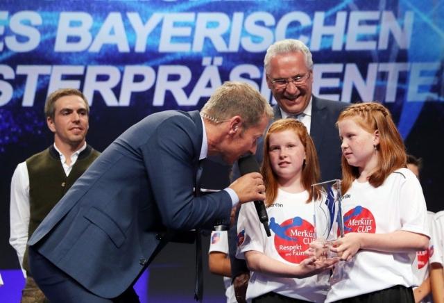 Merkur Cup Kids und Lahm, StM Herrmann
