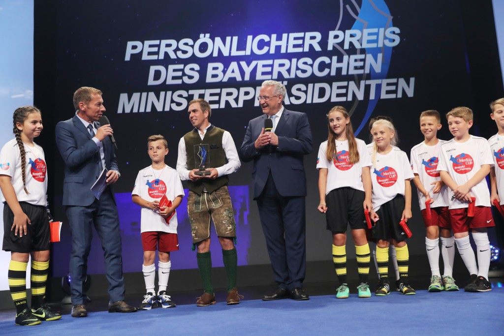 Lahm, StM Herrmann, Merkur Cup