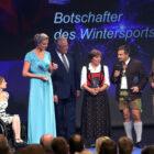 Rosi Mittermaier-Neureuther, Markus Wasmeier , Maria Höfl-Riesch, Georg Hackl, Anna Schaffelhuber und Hermann Weinbuch