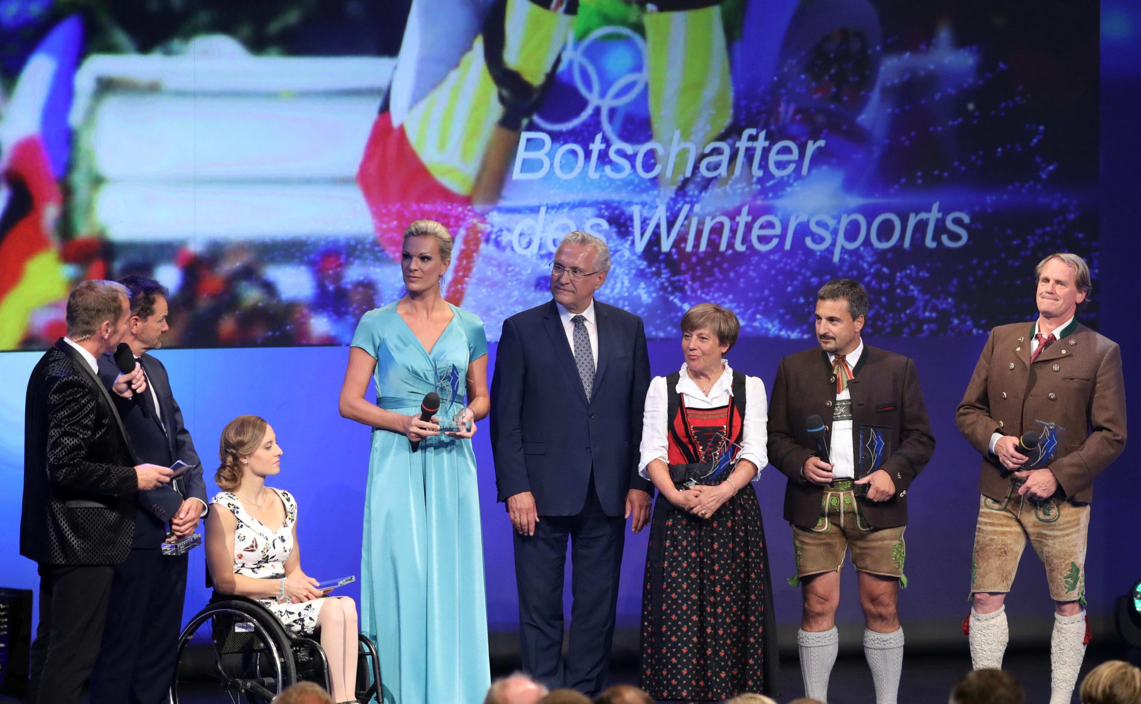 Bühnengespräch Botschafter des Wintersports
