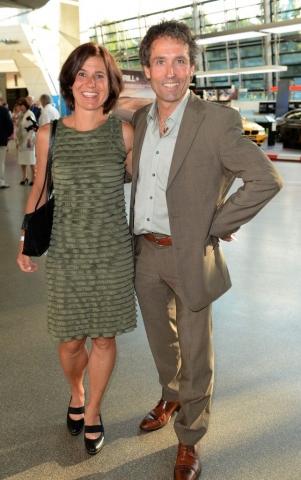 Peter Schlickenrieder und Frau