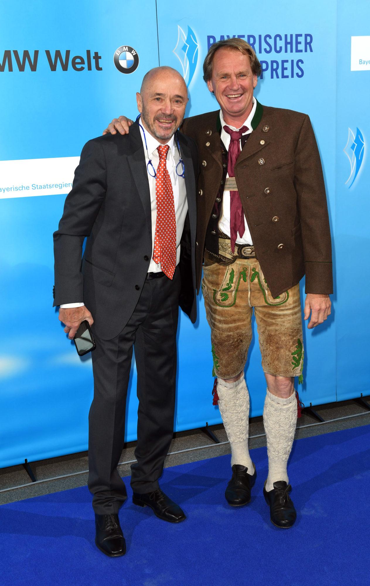 Christian Neureuther und Markus Wasmeier