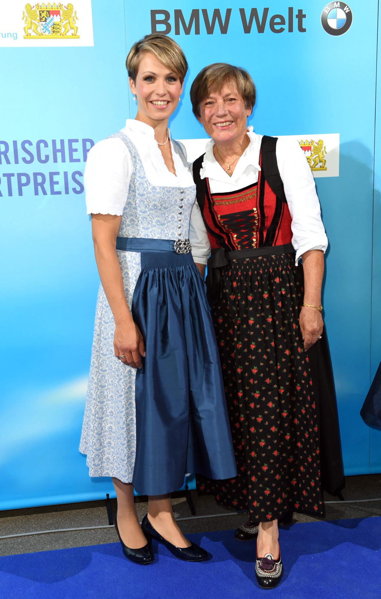 Magdalena Holzer und Rosi Mittermaier-Neureuther