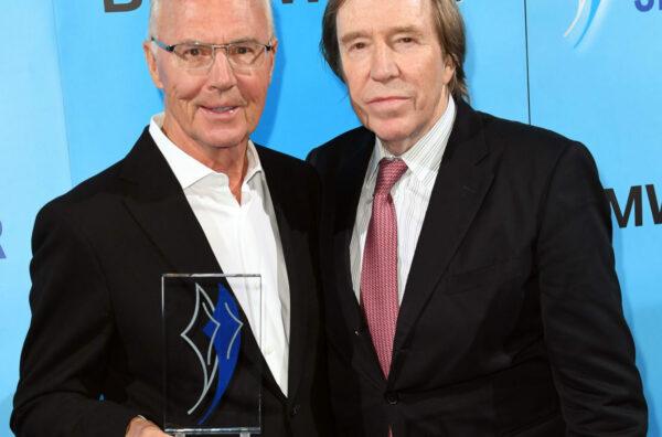 Franz Beckenbauer und Günter Netzer