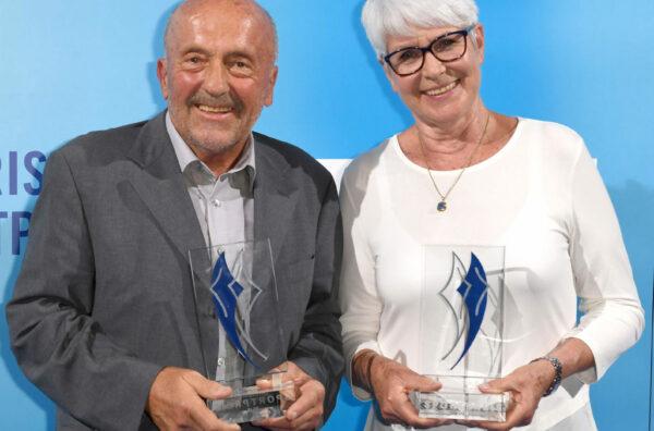 Klaus Wolfermann und Heide Ecker-Rosen