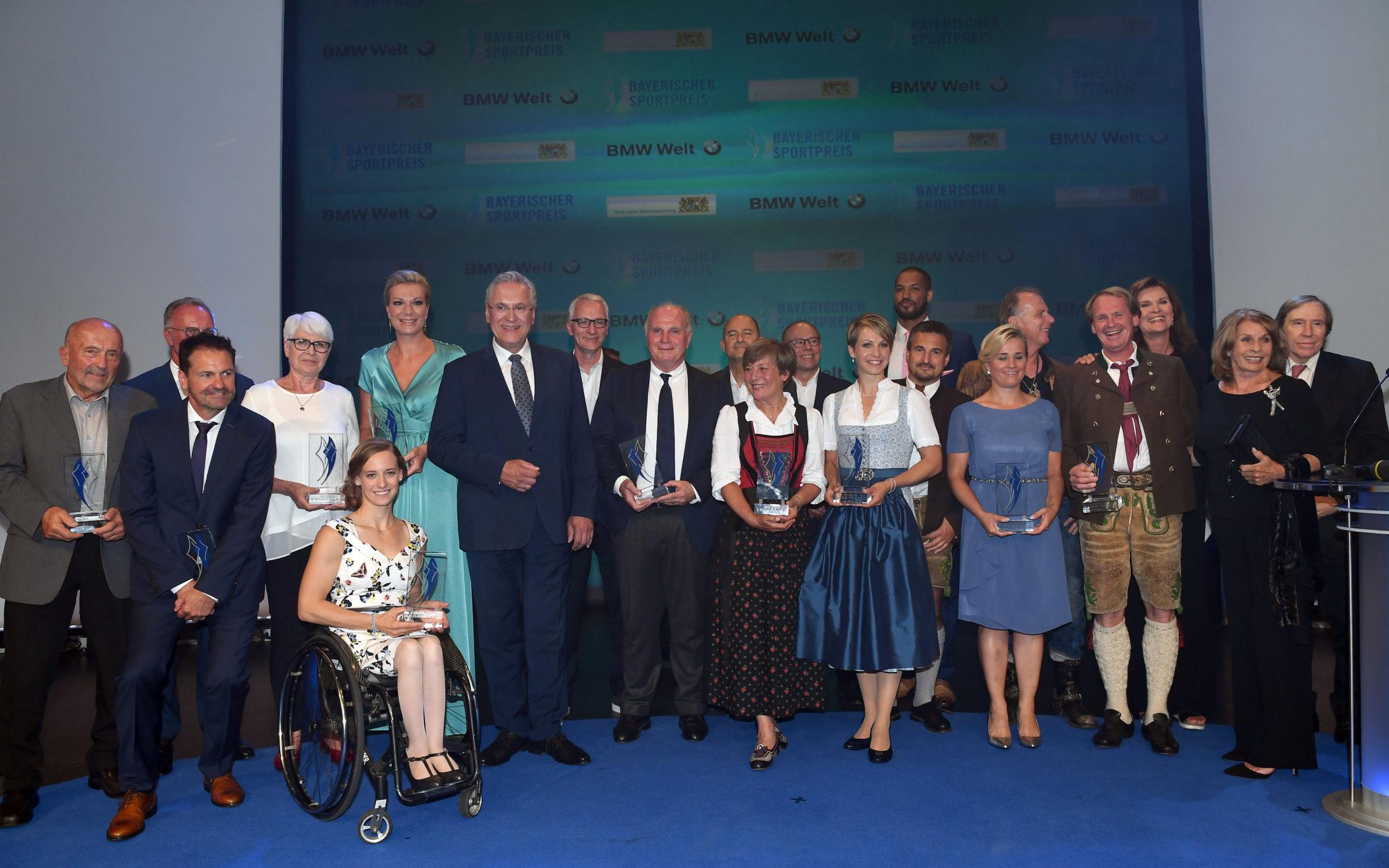 Preisträger und Laudatoren 2018