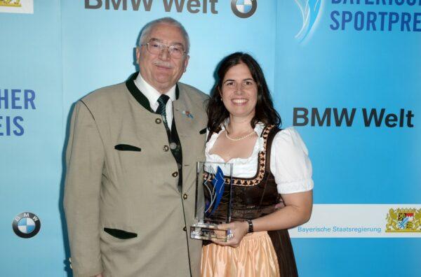 Barbara Engleder / / Bayerischer Sportpreis