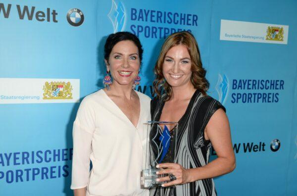 Denise Schindler / / Bayerischer Sportpreis